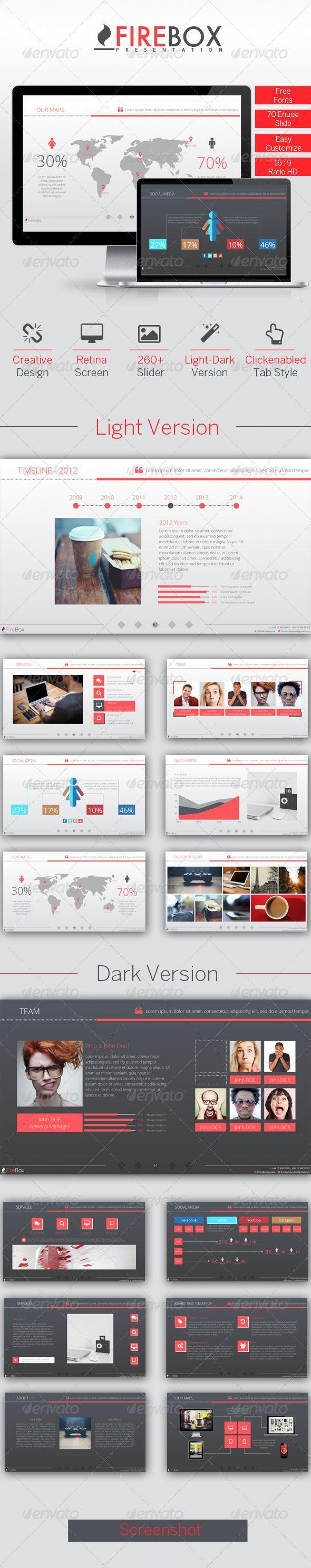 FireBox Creative PowerPoint Presentation