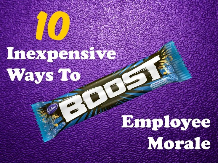 10 Inexpensive Ways To Boost Employee Morale  Enhancing the good will & productivity in your workplace is exceedingly important, but it doesn't have to be excessively expensive.