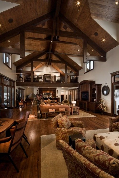 Awesome Rustic Home Design. Traditional Living RoomsTraditional Style ...