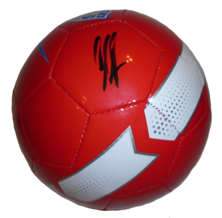 Clint Dempsey Autographed United States World Cup Nike Soccer Ball, Proof Photo. Clint Dempsey Signed United States 2014 FIFA World Cup Nike Soccer Ball, USMNT, Seattle Souders, New England Revolution, Proof Photo  This is a brand-new Clint Dempsey autographed United States 2014 FIFA World Cup logo red soccer ball.  The soccer ball is size 5. Clint signed the soccer ball in black sharpie. Check out the photo of Clint Dempsey signing for us. ** Proof photo is included for free with purchase…