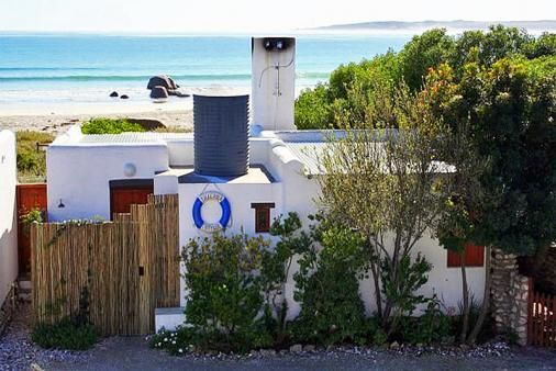 Thalassa self-catering cottage, Paternoster. This little place was perfection for a romantic weekend away. Even on a stormy, winters weekend it was just what we needed.
