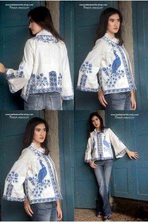 batik amarillis's amarillissima jacket-PO