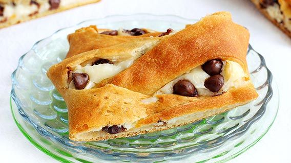 Chocolate Chip Cream Cheese Danish