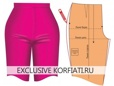 Pant Pattern Alteration for crotch smile lines