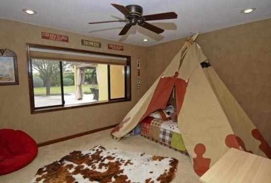 leichte braun einfachen Bedroom Interior Design Ideen Featuring spielen Zelten für Kinder passen alle modernen Heim-Homesthetics (18)