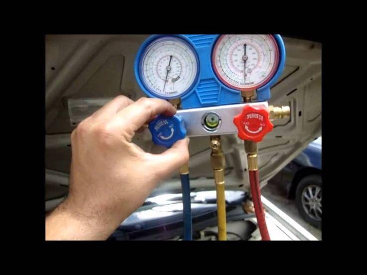 Como se carga  el aire acondicionado