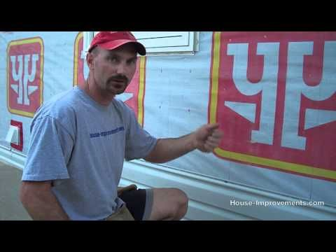 Video How To Install Vinyl Siding On Your House - 33 minutes.  Make sure to leave room for expansion.  Some materials required: J channels, nails,