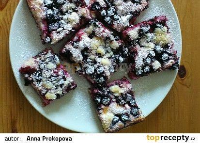 Babiččin borůvkový koláč recept - TopRecepty.cz