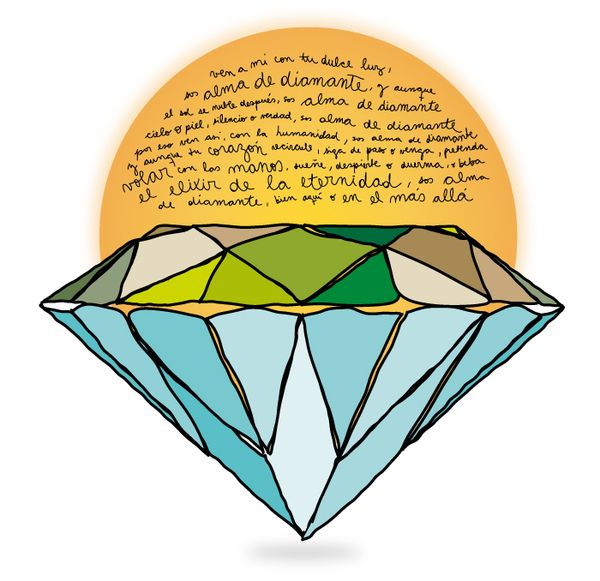 Alma de Diamante by Laura Marcello, via Behance