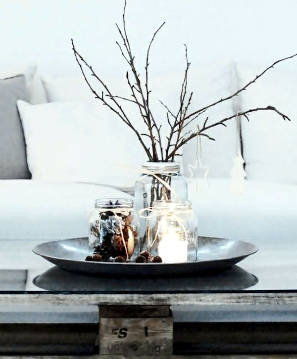 Winter decorating with natural materials – 20 great ideas ...