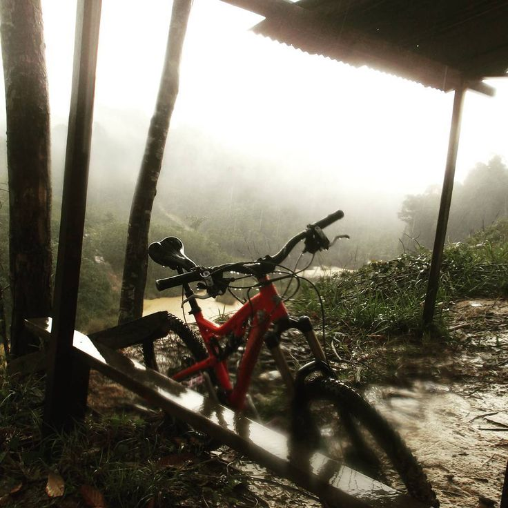 Very cold wet foggy morning along river between valleys, fresh air from rainforest flow under the hut where we take shelter after touring around the forest on our bike.  #borneo #sarawak #village #tropical #travel #holidays #miri #adventures #travelling #tourist #culture #asia #discovery #tribe #sarawak, #malaysia #craft #art #limbang #photography #rainforest http://tipsrazzi.com/ipost/1507792185100212976/?code=BTswQD0Ahrw