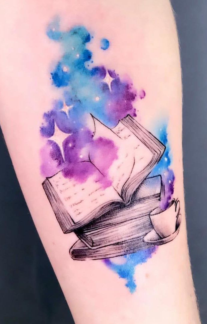 Tatouages de livre génial pour les amateurs de littérature – tatouage – # livres …   – Tattoo