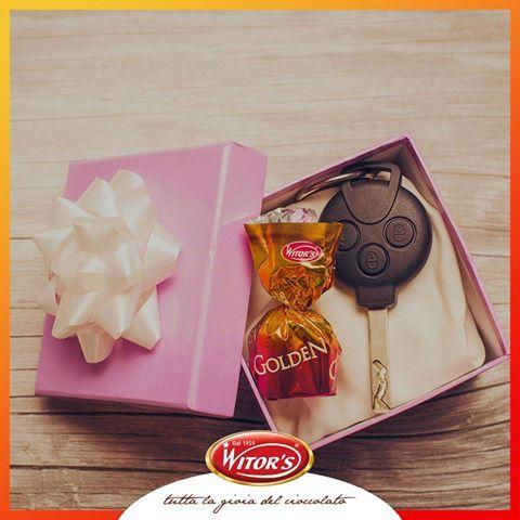 Con le praline Golden di Witor's ogni sorpresa diventa più dolce! Qual è la sorpresa più bella che vi sia mai stata fatta?