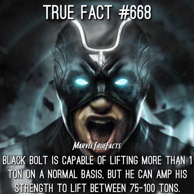 #BlackBolt is easily one of my favorite #Inhumans. His powers are amazing. Hopefully we see him in the MCU soon.  Artwork: @vindiesel as Black Bolt created by @bosslogic. #Marvel