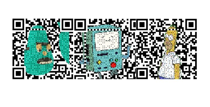 Free QR code maker that allows you to use colorful images, logos and even animation!