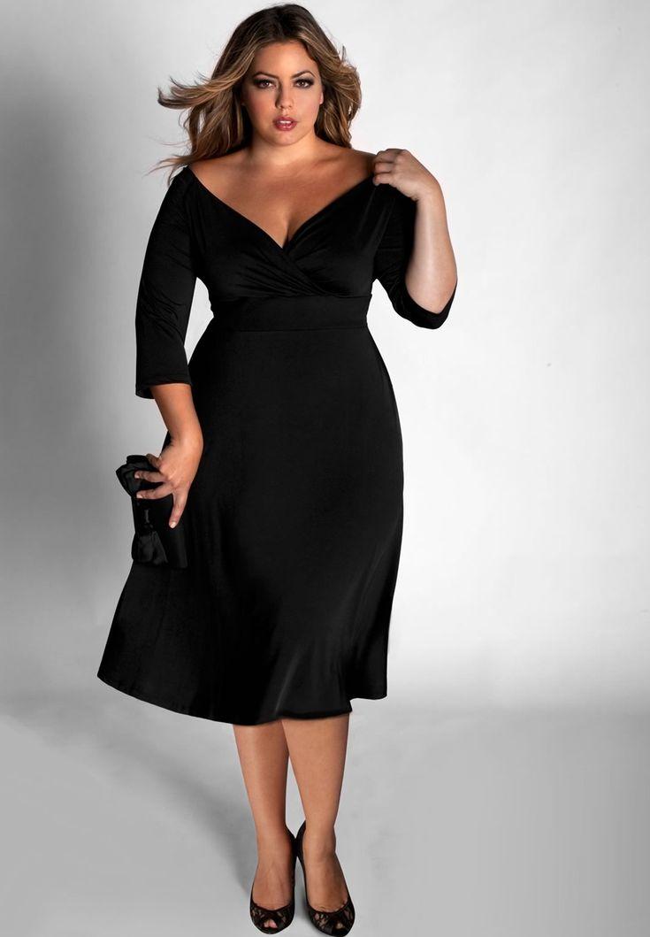 Stylish Plus Size Nightclub Dresses That Can Make You A ...
