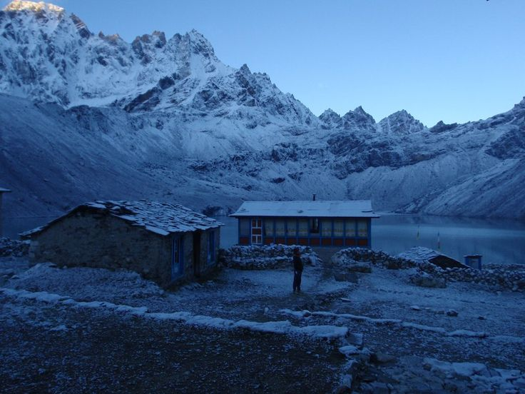 Gokyo Lake at sunrise
