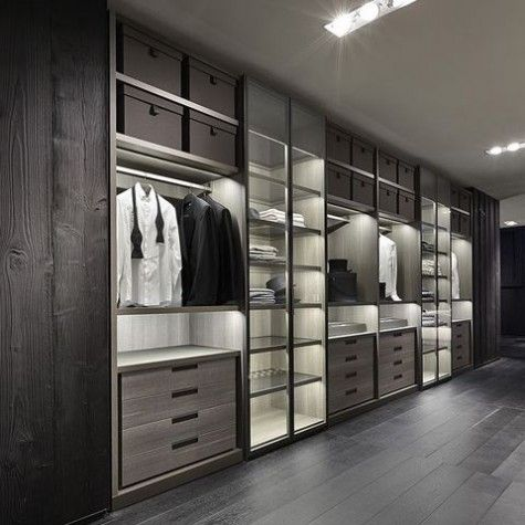 ComfyDwelling Blog Archive 48 Practical And Stylish Masculine Closets