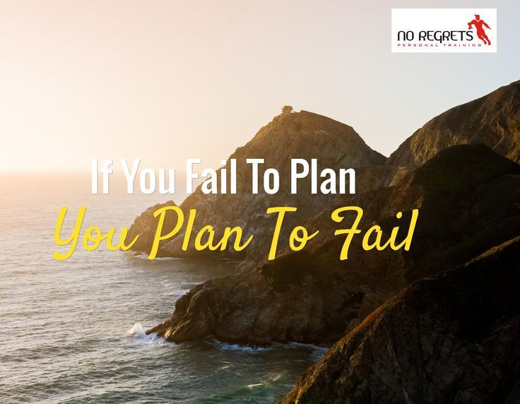 Having a great plan is always a good idea if you want serious results. Speak to us if you need help working out what to do. http://www.noregretspt.com.au/index.php/resources/blog/43-2014/155-fitness-plan-tips-for-success
