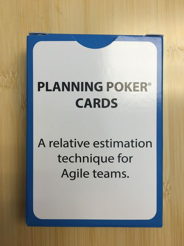 Unbranded Agile Planning Poker Cards by Stream Distribution. Unbranded Agile Planning Poker Cards.