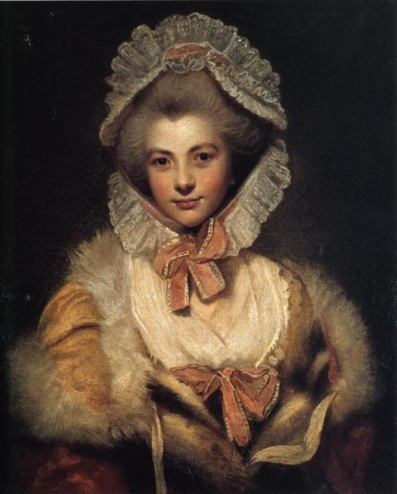 Lady Lavinia Bingham, Later Countess Spencer; by Joshua Reynolds, c. 1781