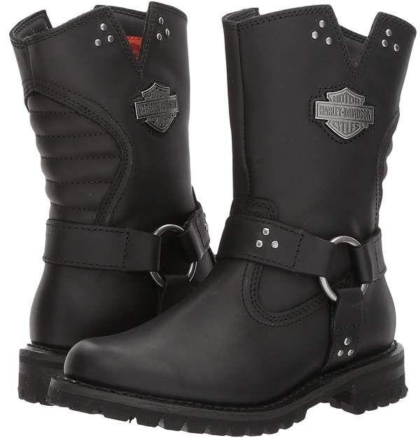 Harley Davidson Barford Women S Pull On Boots Goruntuler Ile Cizmeler Bot Harley Davidson