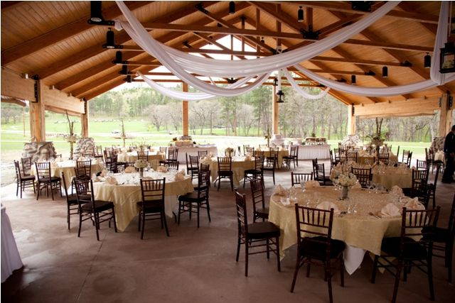 rustic park shelter wedding - Google Search