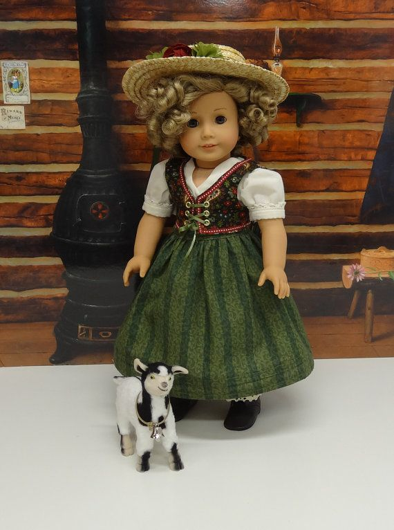 Shirley Temple custom American Girl as Heidi