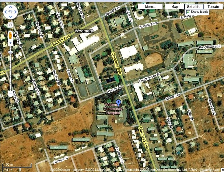 Woomera Australia, where we lived for 2 years in the outback