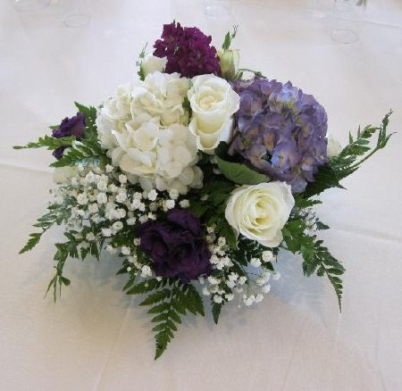 how to make wedding flowers 17 best ideas about purple hydrangea centerpieces on 5012