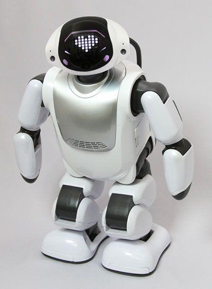 富士ソフト製コミュニケーションロボット「Palmi」が、大手スーパーチェーン「イオン」にて販売される。イオンカード会員特典の5%OFFも受けられる。
