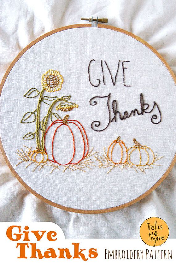 Hey, I found this really awesome Etsy listing at https://www.etsy.com/listing/244245995/pdf-embroidery-pattern-give-thanks