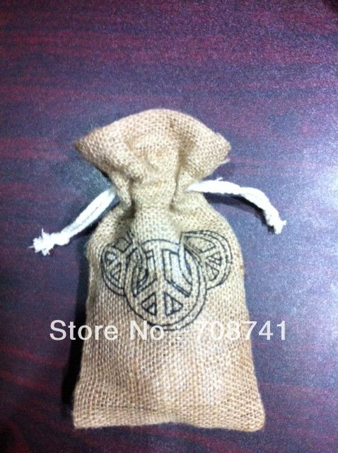 "Aliexpress.com : Buy SIZE:5""x8"",FREE SHIPPING JUTE BAG,NATURE JUTE BURLAP BAG WITH COTTON DRAWSTRING ( FREE 1SIDE 1COLOR PRINT),CUSTOM BAG ACCEPT from Reliable jute bag suppliers on LIVE GREEN BAGS $145.00"