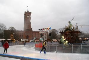 11 Best Places to go Ice Skating in Germany - Berlin Rotes Rathaus