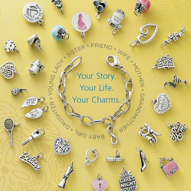 Every other link on our Changeable Charm Bracelet opens and closes, so you may add or remove charms as you wish! #JamesAvery