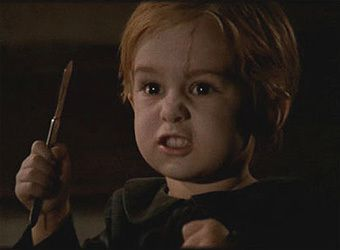 "Pet Sematary by Stephen King...""I played with mommy. I played with Jud. Now I wanna play with you."""