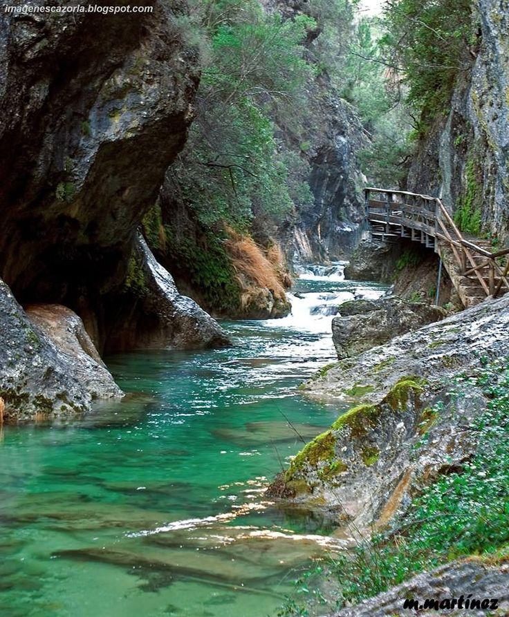 Cerradura de Elías - camino al Nacimiento del río Borrosa - Sierra Cazorla. Jaén, #Spain