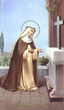 St Rose of Lima - Ana's patron saint