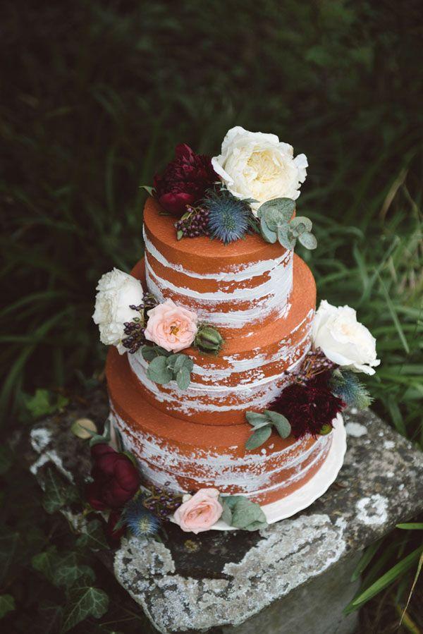 naked cake bohemien