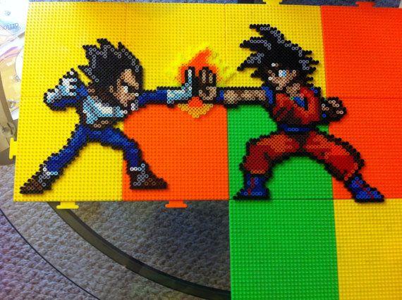 Bit Fun Hama Beads Bijzonderheden Goku Snes Dragons Art