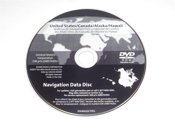 North america map dvd mmi version 11