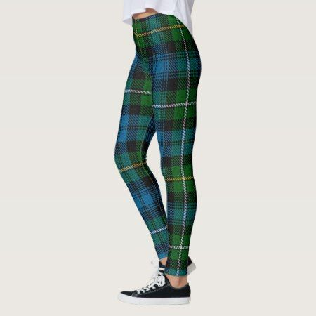 St. Patrick's Day Tartan Leggings - click to get yours right now!