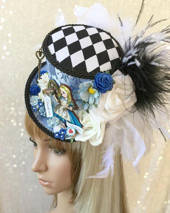 Mini sombrero de Copa Alicia en el país de las maravillas