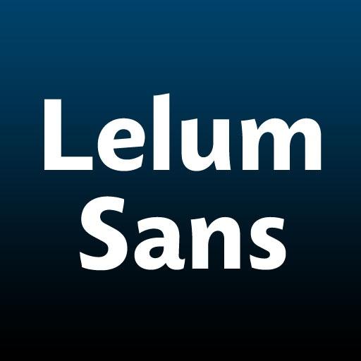 Lelum Sans Typeface