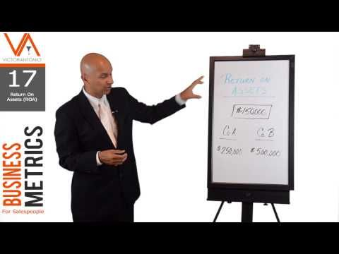 Business Metrics for Salespeople (17/18) - Calculating Return On Assets ...