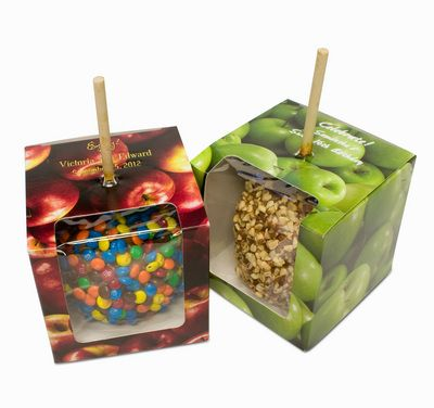 Caramel Apple Personalized Gift Boxes