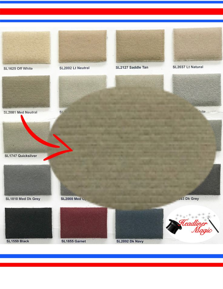 Products & Color Charts — Headliner Mart | Color chart ... |Headliner Color Chart