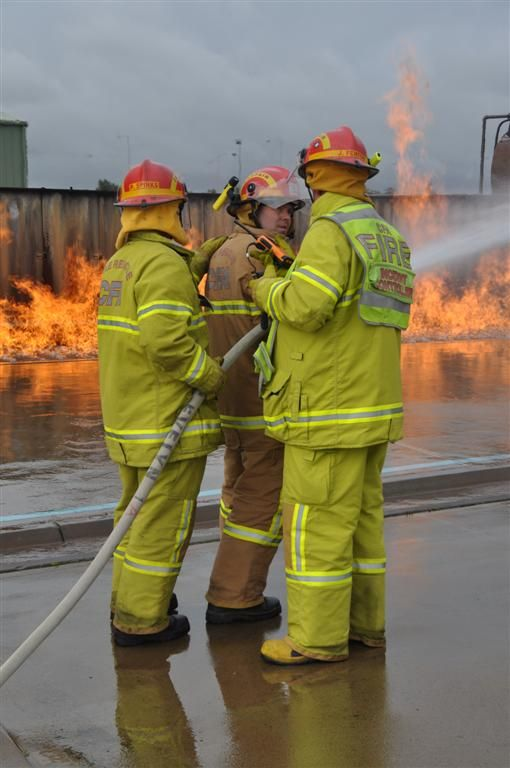 CFA's Eastern Metropolitan Region held a day out at the Bangholme Training Campus with 22 of the district's brigade captains and the full operations team.