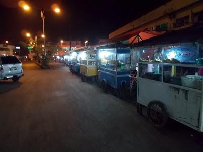 Kuliner Kota Lahat di waktu malam – Berita Lahat Terkini – harianlahat.com