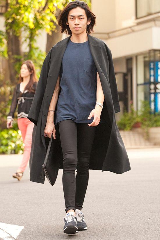 일본 남자 스트릿 패션 - 도쿄 다이칸야마 Street Chic